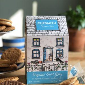 Cupsmith Organic Earl Grey Tea Pyramids 8 units