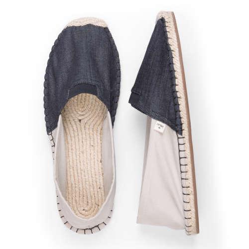 Eburnean Blue_top_espadrille shoes_Kingdom of Wow!
