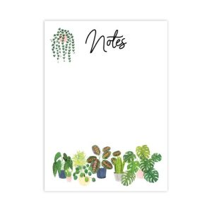 House Plants A6 Notepad