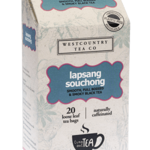 Time Out Tea Lapsang Souchong 20 T'Bags – case of 6