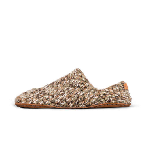 Camo Wool Low Top Slippers_side_Kingdom of Wow!