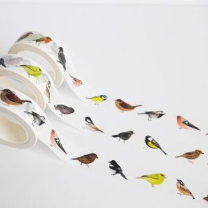 British Birds Washi Tape