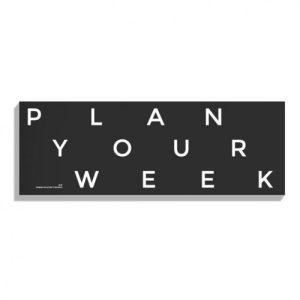 DESK WEEKLY PLANNER – PERPETUAL