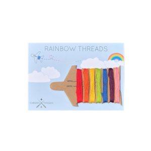 Rainbow Threads Pack of 12