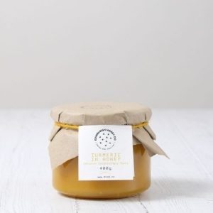 Turmeric Infused Honey 0.4 kg - TIH400G scaled 1 500x500