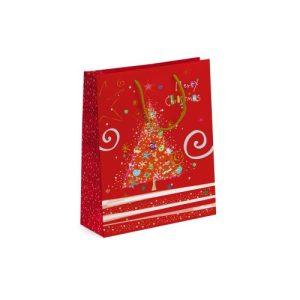 TURNOWSKY RED TREE MED GIFT BAG