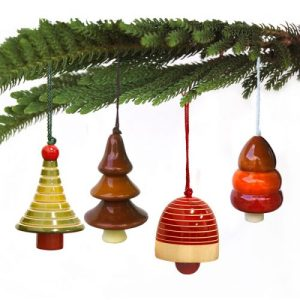Ethiqana Wooden Yulets Collection – Fir Pine Bell Tree - Yulets C3 Leaf1 500x500