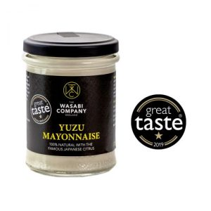 The Wasabi Company Yuzu mayonnaise 175gx6 - Yuzu mayo white background large GT logo 500x500