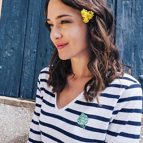 Artichoke Long Sleeve Stripes T-shirt - ar