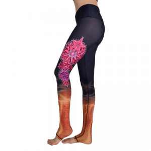 Fire Coral Leggings
