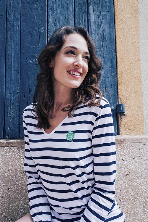 Artichoke Long Sleeve Stripes T-shirt - gnfg