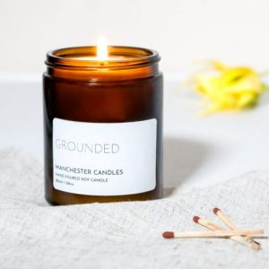 Manchester Candles Frankincense Scented Soy Wax Candle