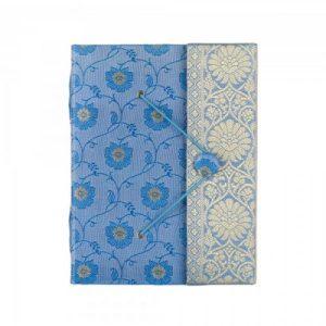 Large Sari Journal Blue