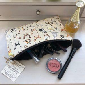 Cosmetic Bag – Cat Design