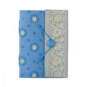 Medium Sari Journal Blue