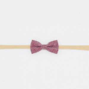 Classic Plum Cotton Headband - ns1 500x500