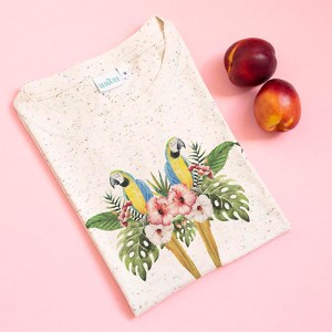 Parrots Speckled T-shirt - pp