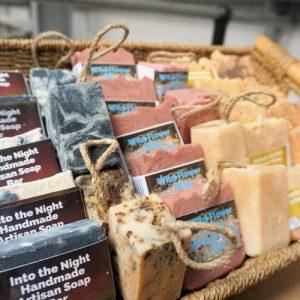 50 Piece Soap Bar Bundle -Small -Plastic Free- Sulfate Free- Palm Oil Free
