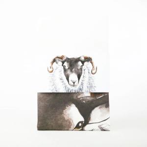 Blackface Ram Tea Towel - teatowel1 500x500