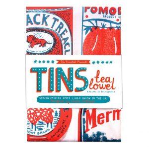 Screen Printed Tins Tea Towel - tins web  80914.1552395584 500x500