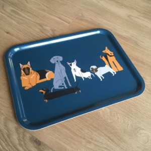 Doggy Friends Tray (Large) - tray4 500x500