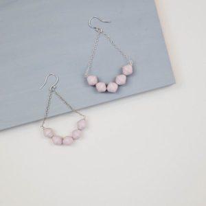 Azalea Drop Earrings - Blush Pink - 1 AzaleaBlushPink 500x500