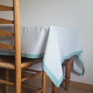 Tablecloth 'Infinity' Sea Green, Small