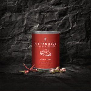 Pistachio – Black Chili Orange – Mini 50g (12 x 50g pack)
