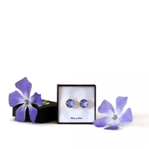 Periwinkle Stud Earrings - 11 peri  500x500
