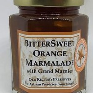 Bittersweet Orange Marmalade with Grand Marnier 220g pack of 6 - 12 3