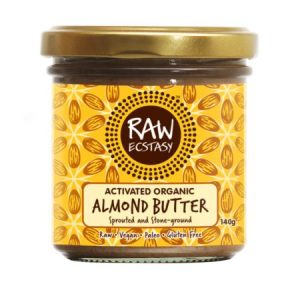 Activated Organic Almond Butter 140g pack of 6 - 12
