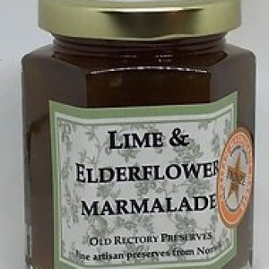 Lime & Elderflower Marmalade 220g pack of 6 - 15 3