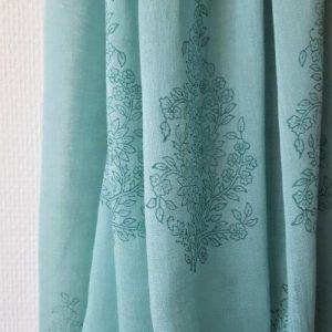 Shawl 'Jade' Cotton