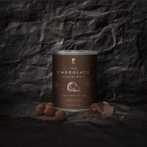 Hazelnut – dark chocolate caramel with cocoa – Mini 60g (12 x 60g pack)
