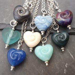 Cora Swirl Heart Necklace - Noviomagus Collection - 20190316 170159 500x500