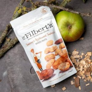 Somerset Applewood Smoked Mixed Nuts 110g pack of 10