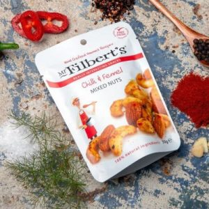 Pocket Snacks Chilli & Fennel Mixed Nuts 50g pack of 12