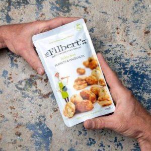 Italian Herb Peanuts & Hazelnuts 110g pack of 10
