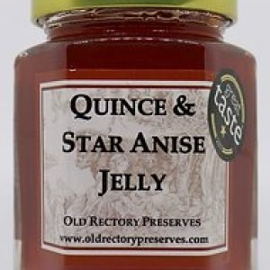 Quince & Star Anise Jelly 220g pack of 6 - 25