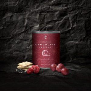 Hazelnut – White Chocolate with Raspberry – Mini 70g (12 x 70g pack)