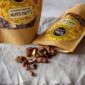 Activated Organic Mixed Nuts 100g pack of 6