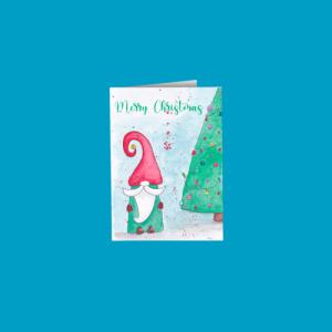 Christmas Gnome Card