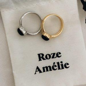 La vie en Roze // Black Ring – Silver
