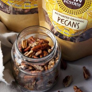 Activated Organic Pecans 300g pack of 3