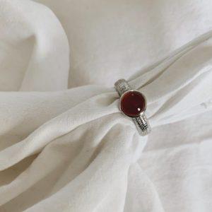La vie en Roze // Coral Ring – Silver