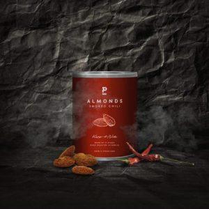 Almond – Smoked Chili – Mini 60g (12 x 60g pack)