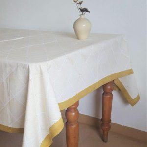 Tablecloth 'Infinity' Ochre, Small