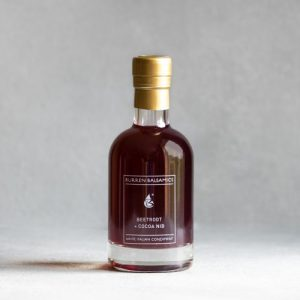 Beetroot and Cacao Nib Infused White Condiment of Modena 100ml/200ml - Beetroot Cocoa Nib 500x500