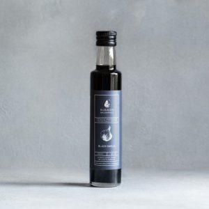 Black Garlic Infused Balsamic Vinegar 100ml/250ml - Black Garlic 500x500