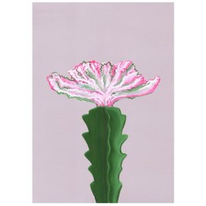 CRESTED EUPHORBIA Greeting Cards, pack of 6